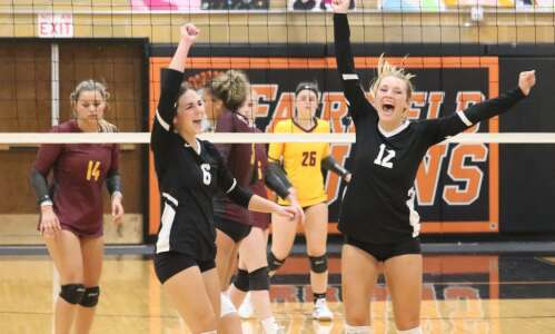 Fairfield volleyball team finds its ace in the hole