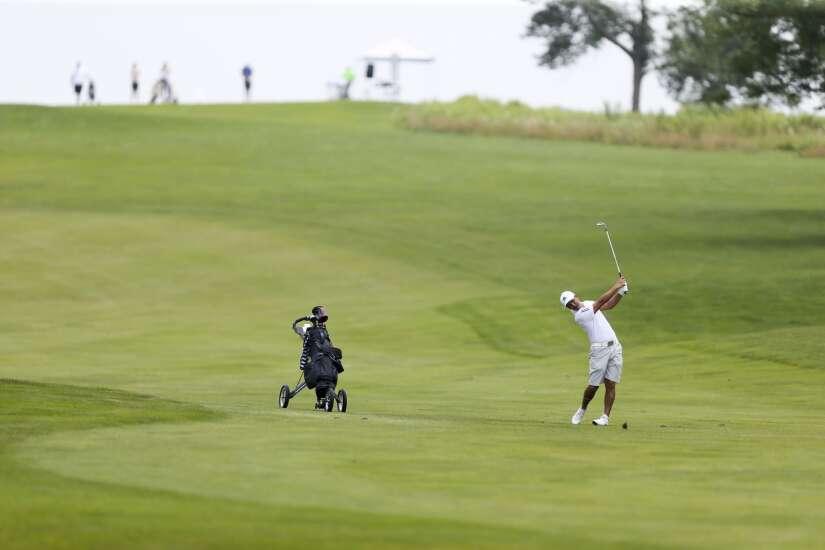 Sam Cyr fires 10-under 62 to take Greater Cedar Rapids Open lead