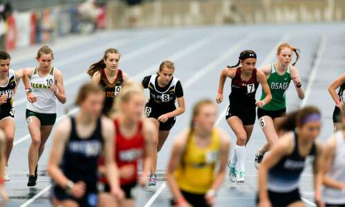Photos: Iowa high school state track and field, Day 1