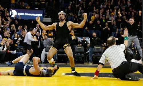 Tony Ramos, Kyven Gadson reach men's freestyle wrestling finals of…