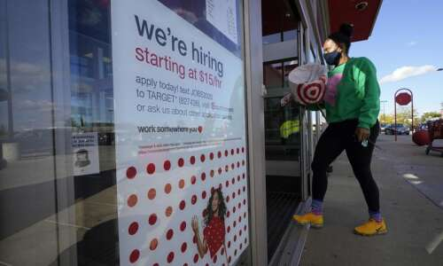 Iowa jobless rate drops to 3.6 percent in October