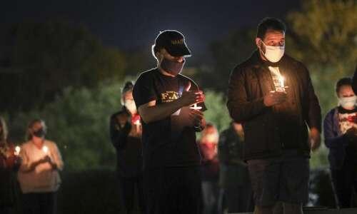 Cedar Rapids racial injustice vigil stirs call for action