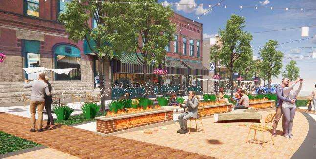 Marion's 'streetscape' project to begin construction in April