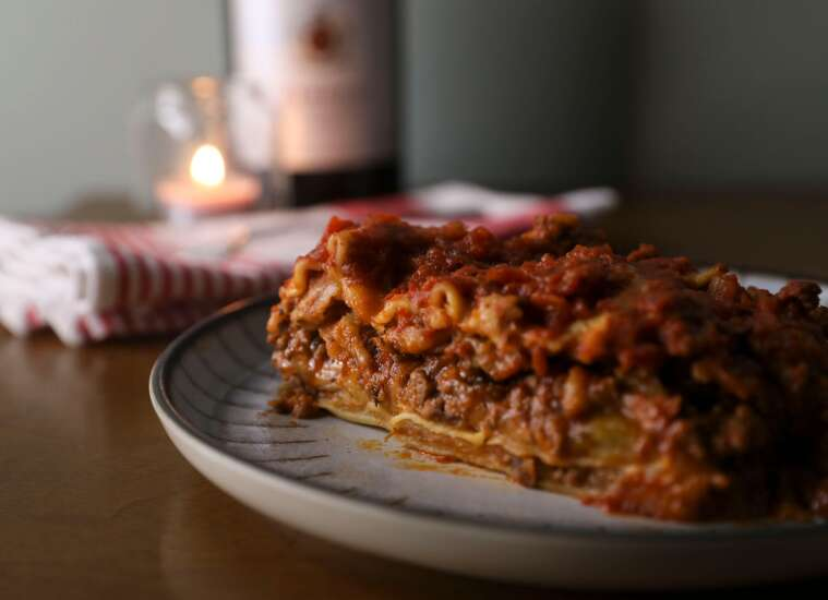This easy lasagna recipe can feed a crowd