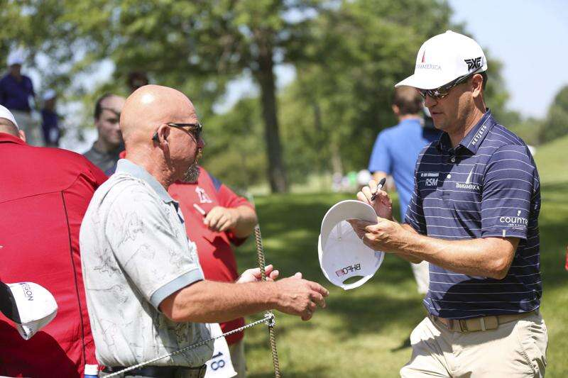Zach Johnson and fellow PGA Tour players could — could — go back to work in June