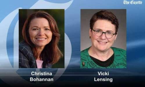UI law professor Christina Bohannan defeats Rep. Lensing in Iowa…