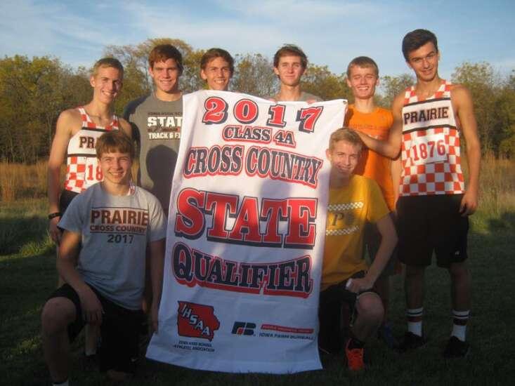 Cedar Rapids Prairie boys' cross country earns 10th state berth in a row