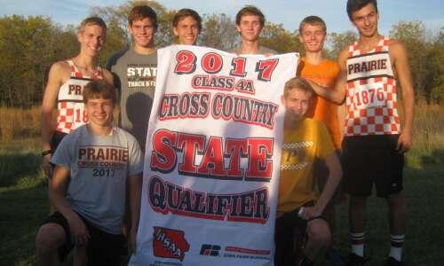 Cedar Rapids Prairie boys' cross country earns 10th state berth…