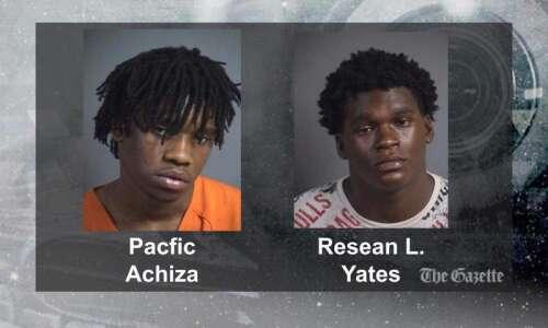 North Liberty men arrested after assault outside community center
