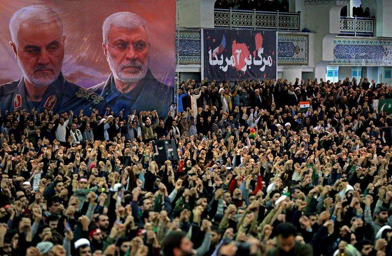Countdown to caucuses: Iran tension pushes foreign policy into forefront of Democratic primary race