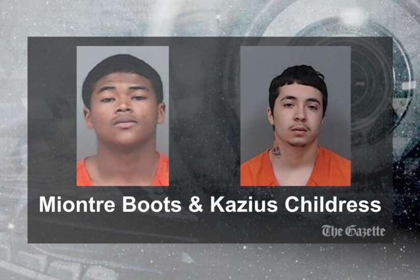 Two arrested in Cedar Rapids following police pursuit of stolen SUV