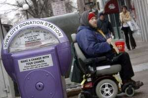 Iowa City donation meters bring in roughly $2,000 in two years