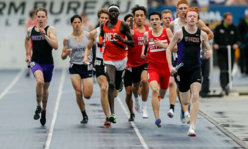 State track: Day 1 results, team scores and more