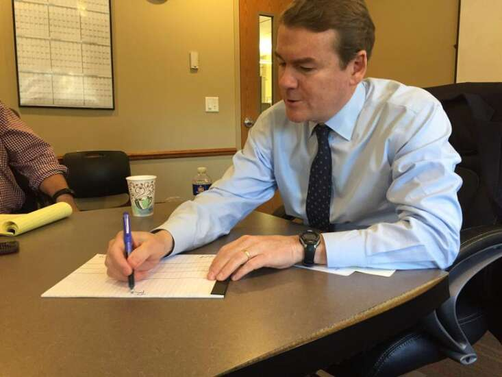 Michael Bennet pitches health care plan that's cheaper than Medicare for all