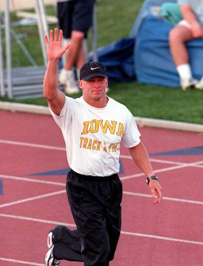 Track and field takes center stage on cold Iowa night