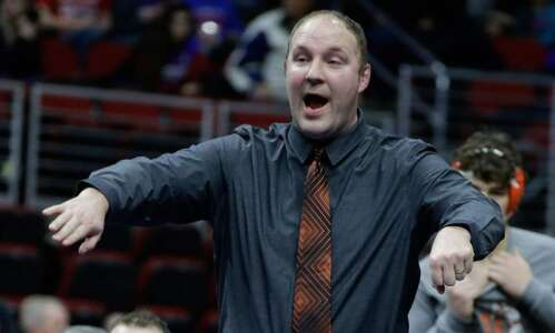 Blake Williams retires as Solon wrestling coach