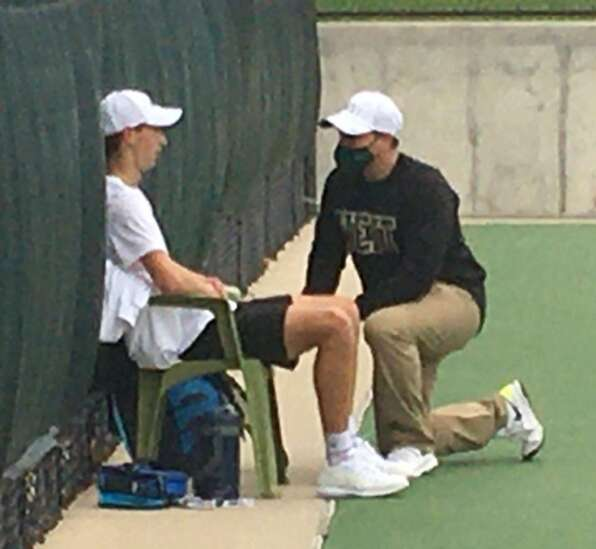 After a few delays, Iowa City West boys' tennis coach Mitch Gross records 300th victory
