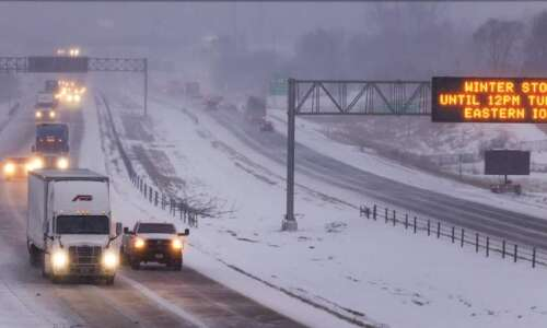 Snowfall totals: See how much snow fell in Eastern Iowa