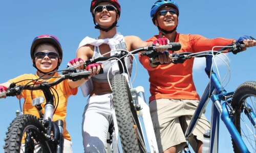 Group bike rides offer beginners fun, security