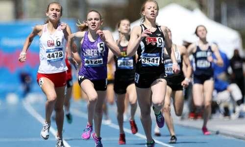 Iowa City Liberty girls' track and field program has made…