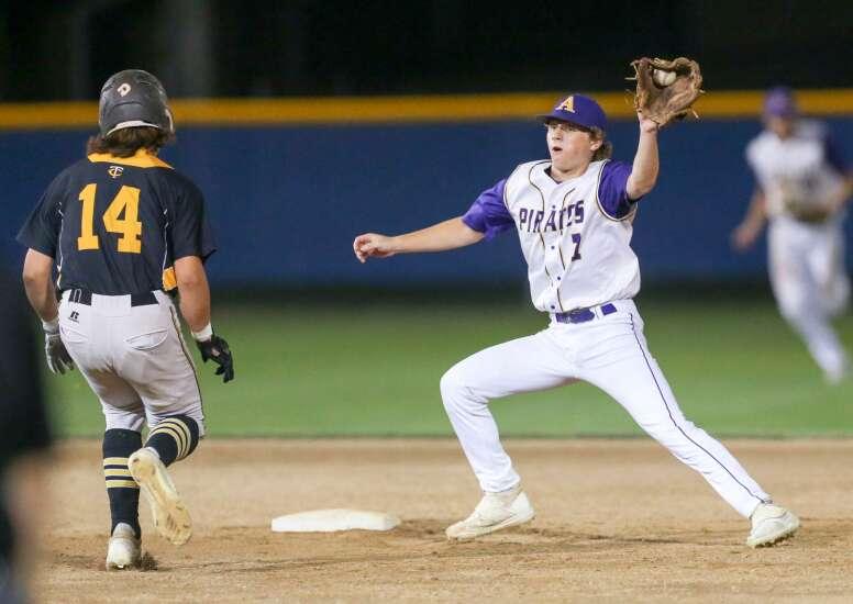 Photos: Alburnett vs. Tri-Center, Class 1A Iowa high school state baseball tournament