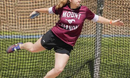 Iowa 3A girls' state track and field: 130-foot fling lands…