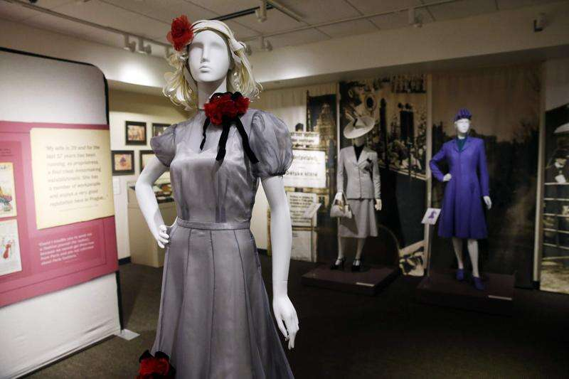 A Czech dressmaker died in the Holocaust, but her designs live on in exhibit at National Czech museum