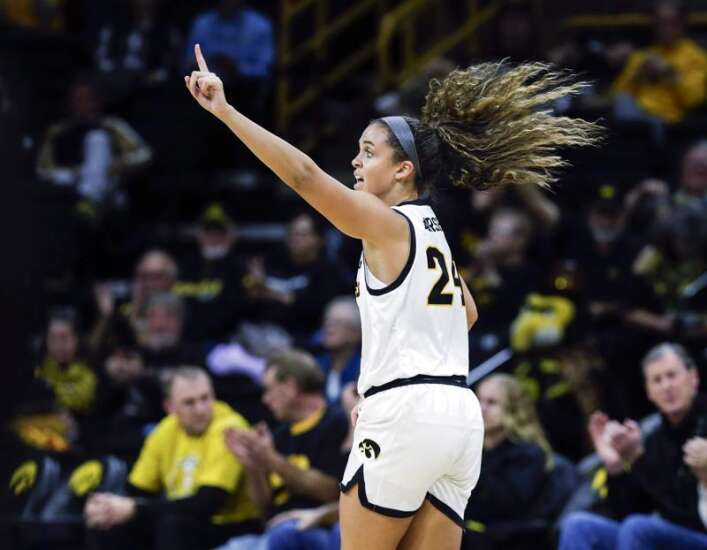 Iowa women's basketball gets 3 games in Puerto Rico, 3 games vs. the press