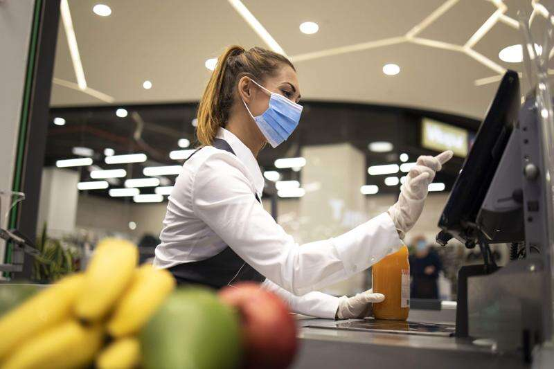 On the front lines with grocery store employees during the pandemic