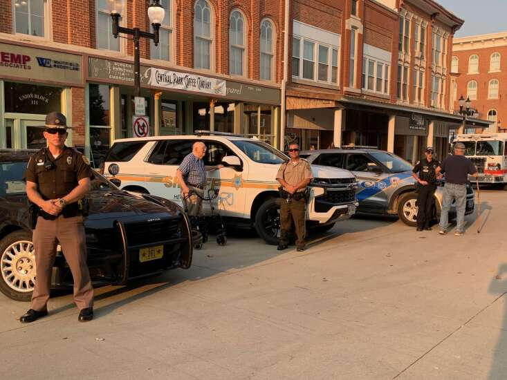 'Burgers and Bikes' celebrates local first responders