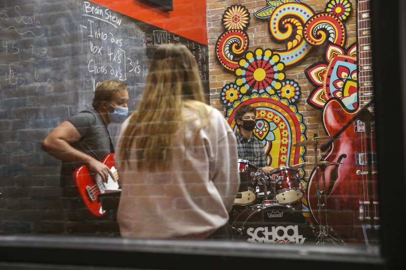 Marion School of Rock takes a performance-first approach to teaching music
