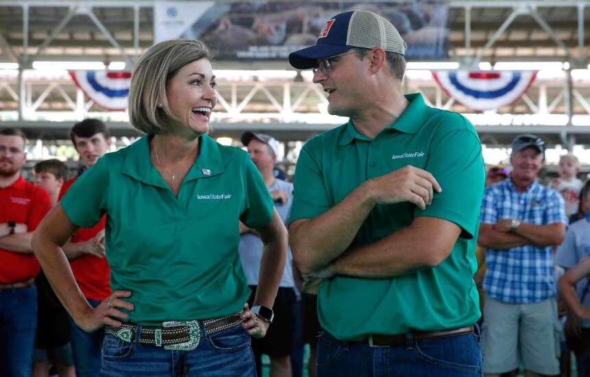 Ethics Board: Iowa governor broke no laws with COVID-19 ads