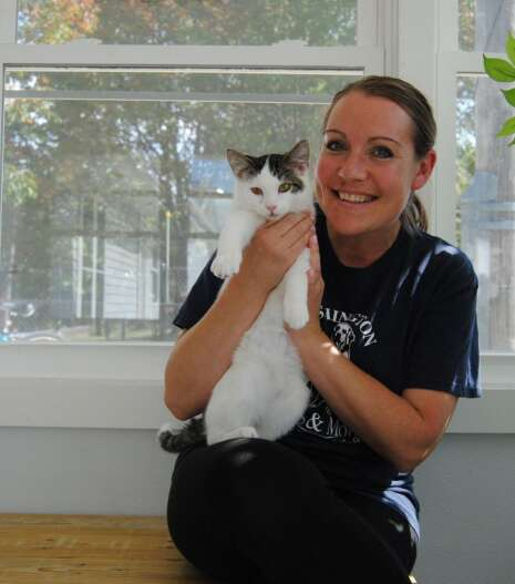 Helping animals is Amber Talbot's passion