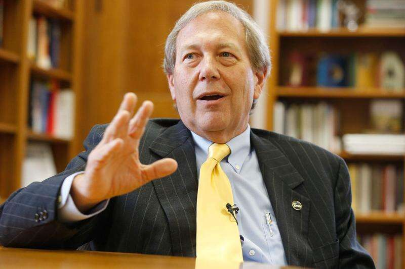'We need to get to work' on faculty pay, Harreld says