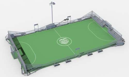 Hanna Park upgrades in Marion include new soccer mini-pitch