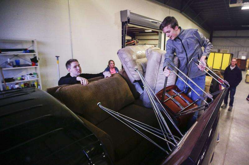 Central Furniture Rescue 'transient,' looking for permanent warehouse home