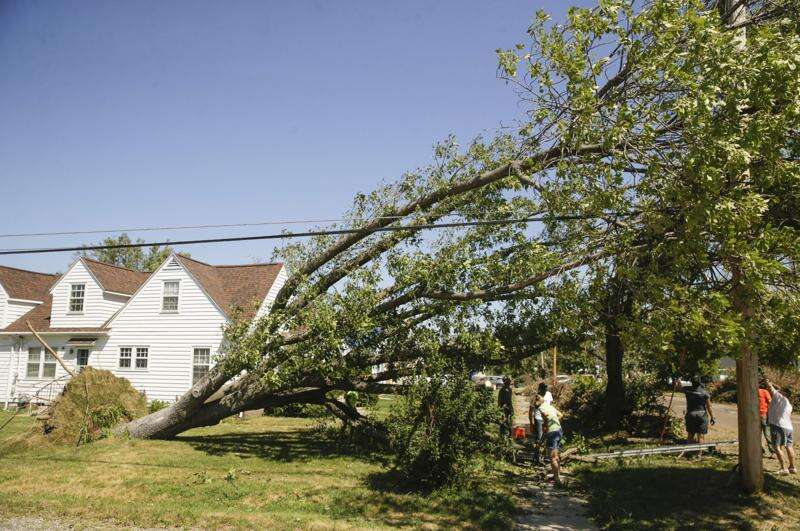Photos: Derecho Recovery on Saturday, Aug. 15, 2020