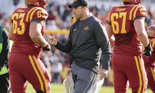 Iowa State football notes: Matt Campbell expects Cyclones to be…