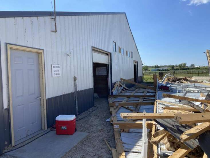 Northern Lights Stables in Mount Vernon copes with destruction from the derecho storm