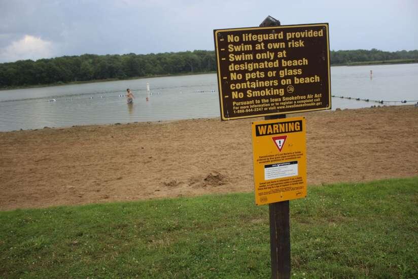 Dry summer causes rise in harmful algae, swim warnings in Iowa lakes