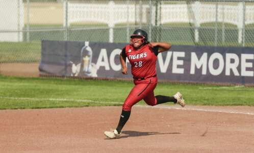 One swing separates ADM, CCA in state softball pitchers' duel
