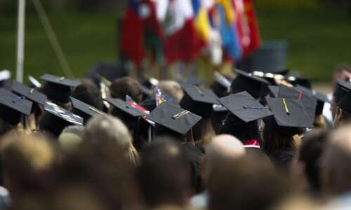 A look at tuition costs at Iowa's colleges and universities…