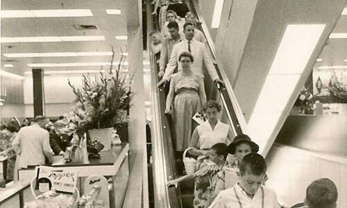 Piece of History: About those escalators at Armstrong's ...