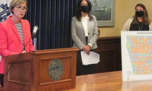 Des Moines says no to Iowa Gov. Kim Reynolds' demand…