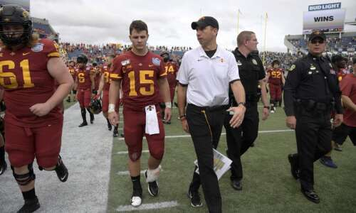 Coach Matt Campbell wants expectations to remain high for Iowa…