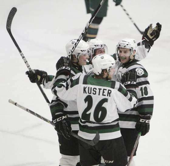 Kuster's buzzer beater helps lift RoughRiders past Sioux City