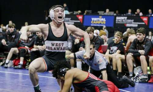 How West Delaware wrestling developed team culture key to state…