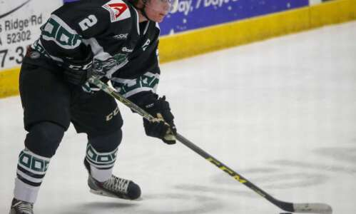 Former Cedar Rapids RoughRider Jack Ahcan signs NHL deal with…