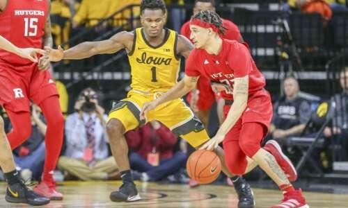 Photos: Iowa Hawkeyes men's basketball vs. Rutgers Scarlet Knights