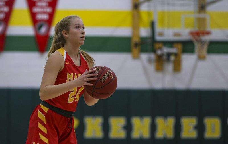 Iowa high school girls' basketball: Gazette area stat leaders